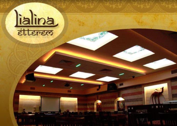 Az arab éjszakák különleges világa! Ételfogyasztás a Lialina étteremben 2 fő részére most 6.000 Ft helyett 3.000 Ft