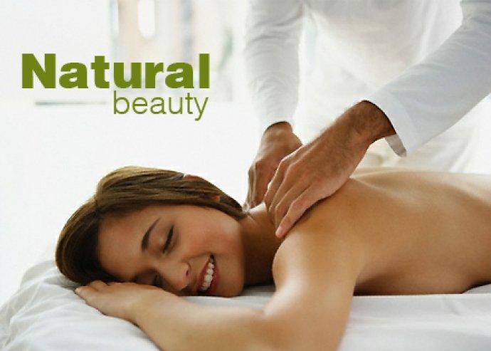 2 x 50 perces gyógymasszázs a Natural Beauty szépségszalonban