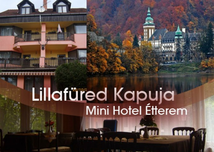 3 nap / 2 éjszaka szállás 2 fő részére a Lillafüred Kapuja Hotelben