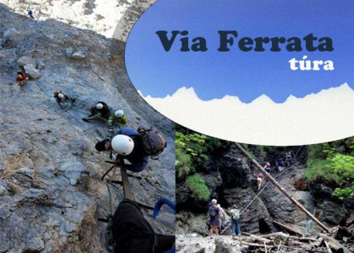 2 napos Via Ferrata túra a Magas-Tátrában
