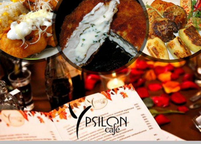 2 személyes Y bőségtál az Ypsilon Café éttermében