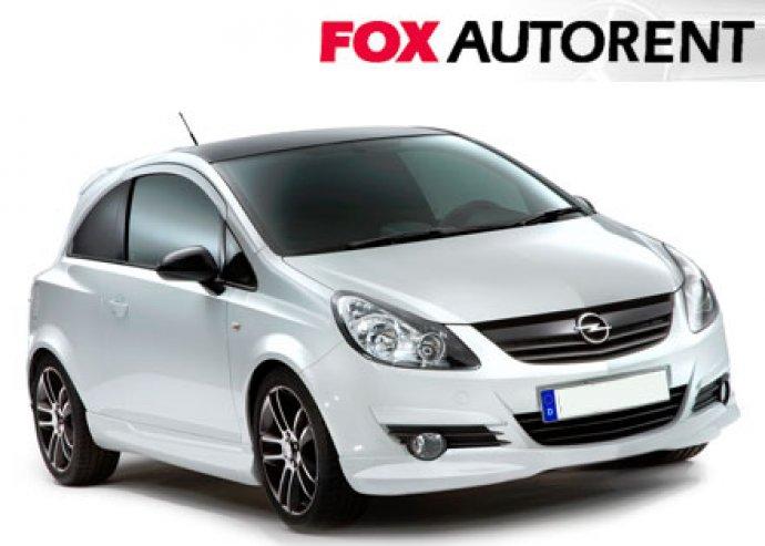 Opel Corsa személygépkocsi egy napra FOX AUTORENT-től