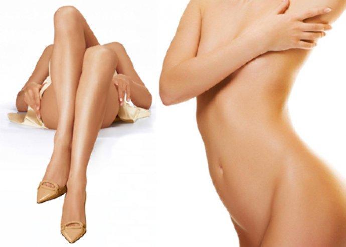 Intim kozmetika,  alkar és lábszár gyanta választható gyantával
