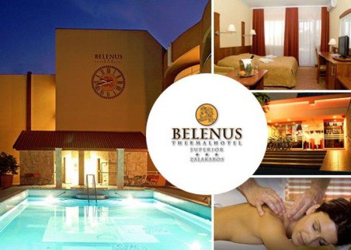 3 napos aktív pihenés Zalakaroson a Belenus Thermalhotel*** Superiorban