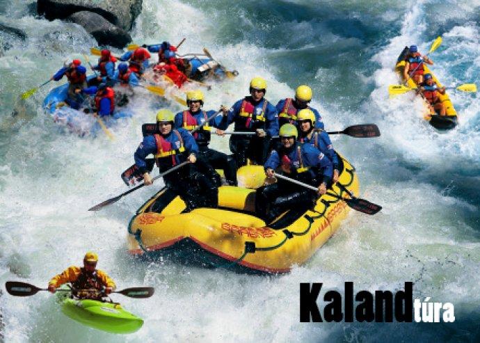 2 napos rafting túra Szlovéniában Bovecben a Soca folyón