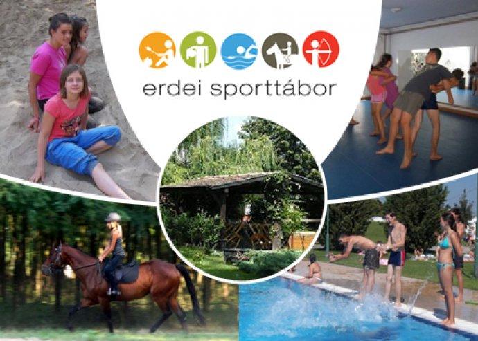 Erdei Sporttábor gyerekeknek 5 nap / 5 éjszaka teljes ellátással, gazdag sportprogramokkal