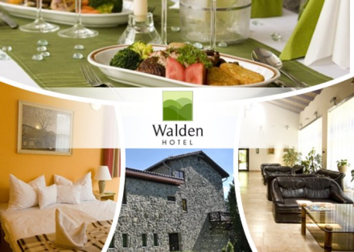 3 nap / 2 éjszaka Dobogókőn 2 fő részére a Walden Hotelben reggelivel kétágyas szobában