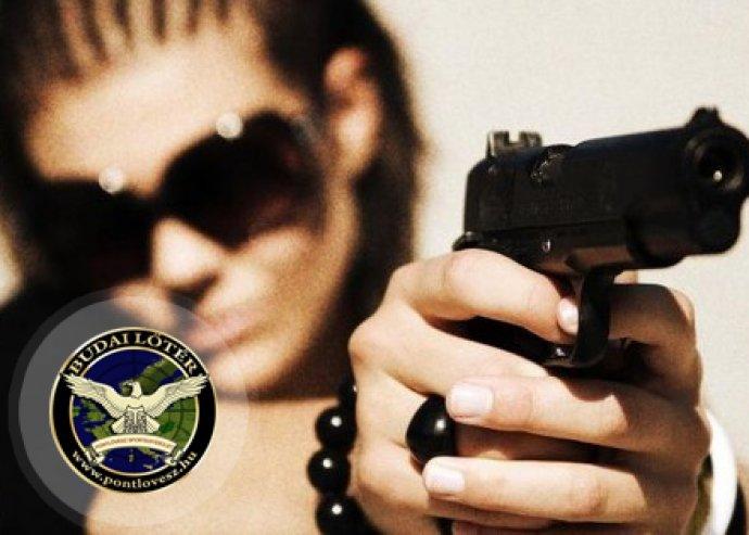 Páros éleslövészet - öt fegyvert 60 lövés