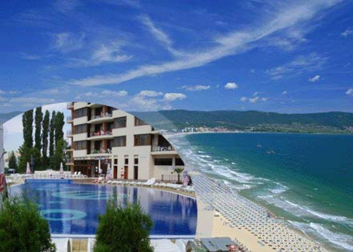 8 nap/ 7 éj Sunny Beachen, Bulgáriában, a saját medencés, színvonalas Hotel Poseidon apartmanszállodában