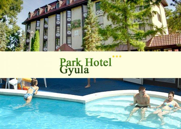 4 nap / 3 éj 2 fő részére félpanziós ellátással a Park Hotel Gyula szállodában