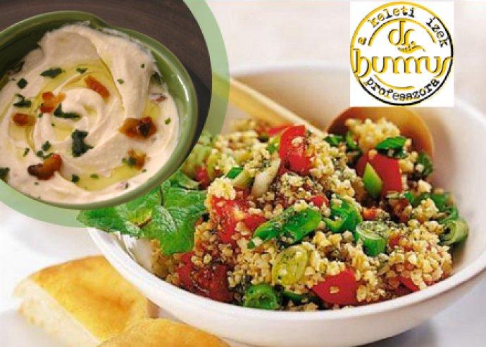 A'la carte étel- és italfogyasztás a Dr. Hummus falafel és hummus bárban
