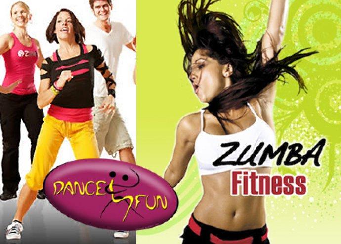 5 alkalmas Zumba bérlet a Dance4Fun tánciskolában