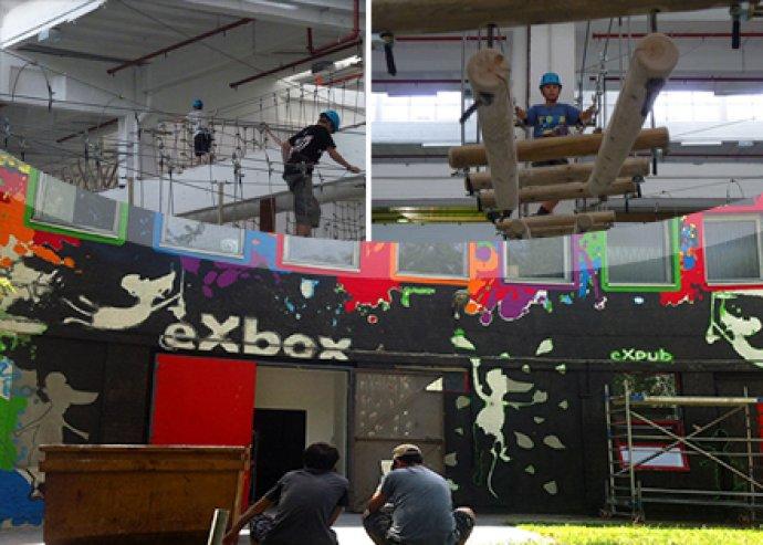 Mega Felnőtt napijegy az eXbox Élményházba