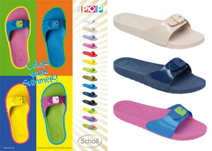 Scholl Pop női papucs 13 színben