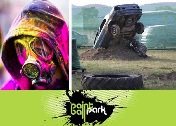 4 órás paintball játék a Paintball Parkban Budaörsön