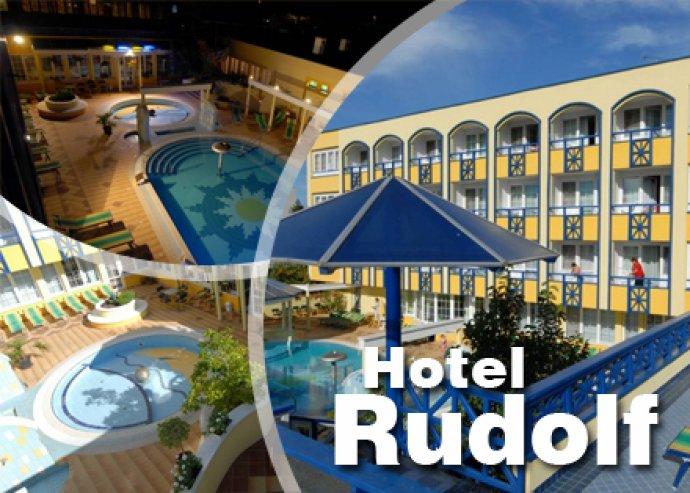 3 nap 2 éj 2 felnőtt és 1 gyermek részére félpanzióval Rudolf Hotelben
