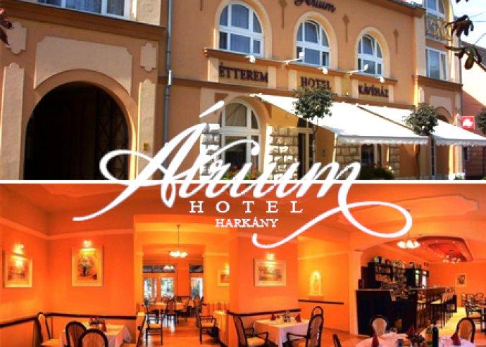 3 nap, 2 éj  2 fő részére a Hotel Átriumban a Harkányi Szüreti Fesztivál idején