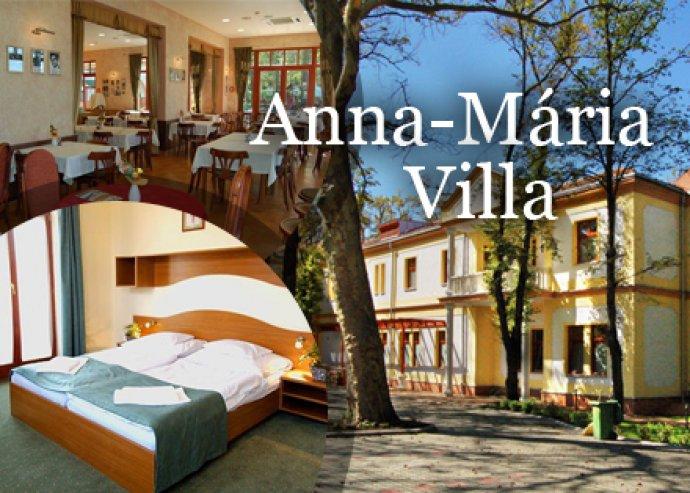 Anna-Mária Villa*** hotel 2 fő plusz egy kisgyermek részére reggelivel