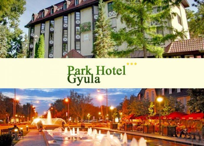 3 nap / 2 éj 2 fő részére, félpanzióval a Parkhotel Gyulában