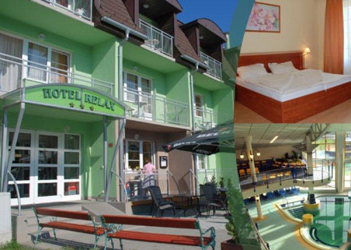 3 nap, 2 éj, 2 fő plusz 1 gyermek részére svédasztalos reggelivel, extrákkal a Relax Hotel Sárvárban