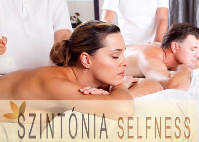 55 perces választható masszázs (svéd, frissítő, sport, relax, aromaterápiás) a Szintónia Selfness Szalonban