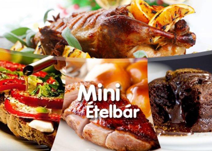 A la Carte vacsora 2 fő részére a Mini Ételbárban