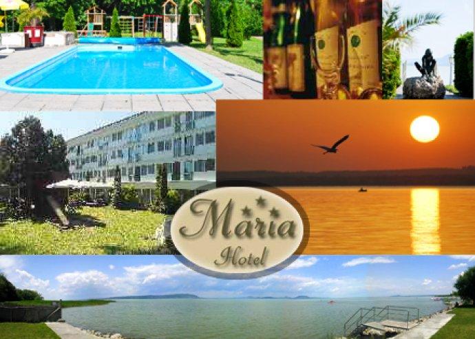 5 nap 4 éj 2 fő részére, félpanziós ellátással a Mária Hotelben