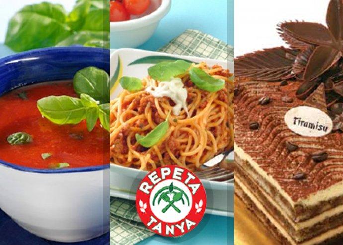 Olaszos menü a Repeta Tanyán