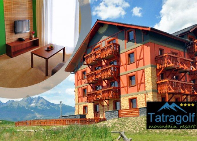 3 nap 2 éj 2 fő részére Szlovákiában a négycsillagos Tatragolf Mountain Resortban