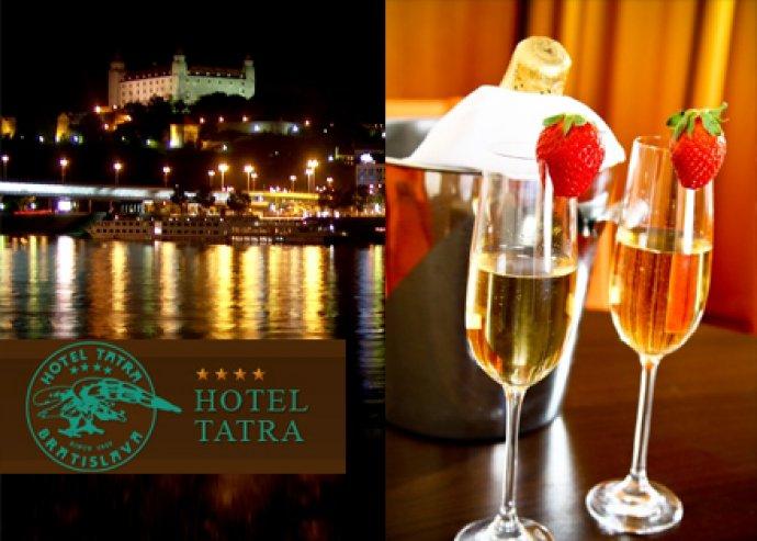 Óévbúcsúztató 2 éj 2 fő részére a pozsonyi Tatra Hotelben