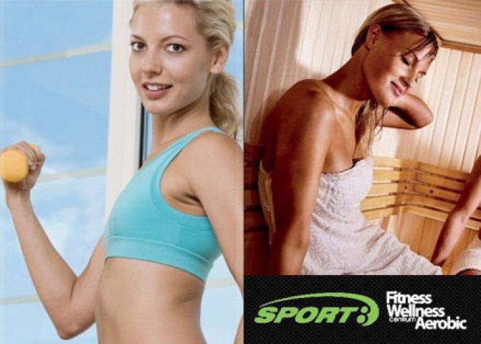 Havi kombinált fitness-aerobic bérlet a Sport8 Campona Centrumban