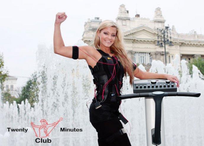 3 alkalmas EMS bérlet személyi edzővel a Twenty Minutes Clubban