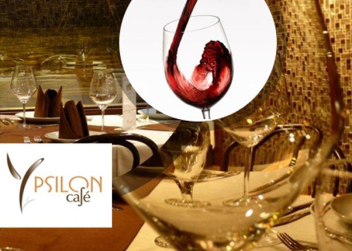 Exkluzív borvacsora nov. 29-én az Ypsilon Caféban