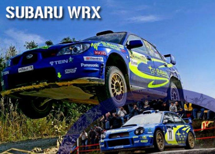 SUBARU IMPREZA WRX extrém élményautó vezetés versenypályán