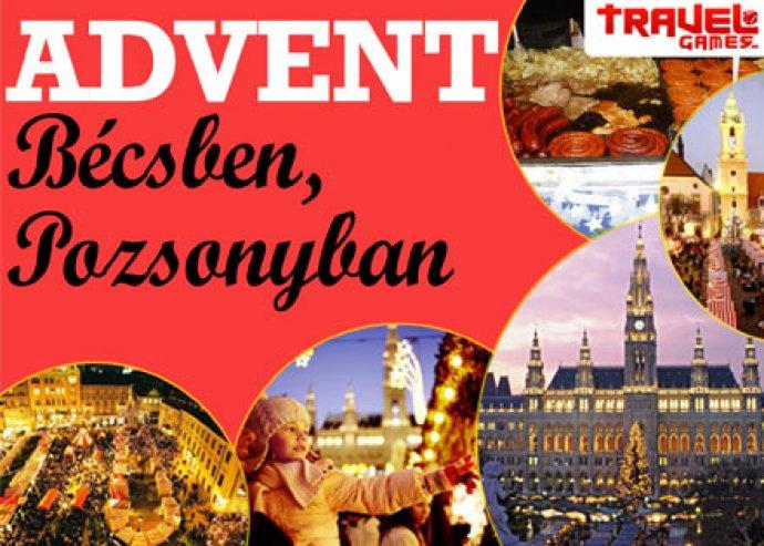 Adventi kirándulás Bécsben vagy Pozsonyban autóbusszal FÉLÁRON