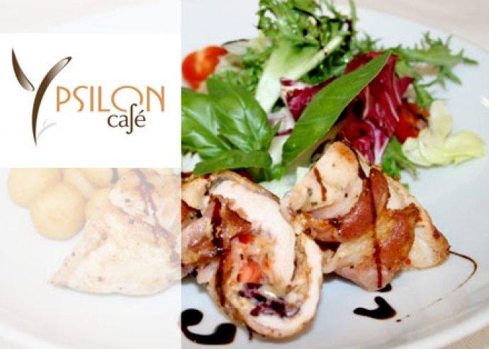 Ínyenc ebéd vagy vacsora az Ypsilon Café-ban