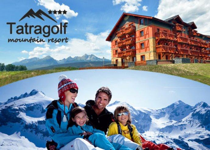 3 nap, 2 éj  Szlovákiában, a Tatragolf Mountain Resortban