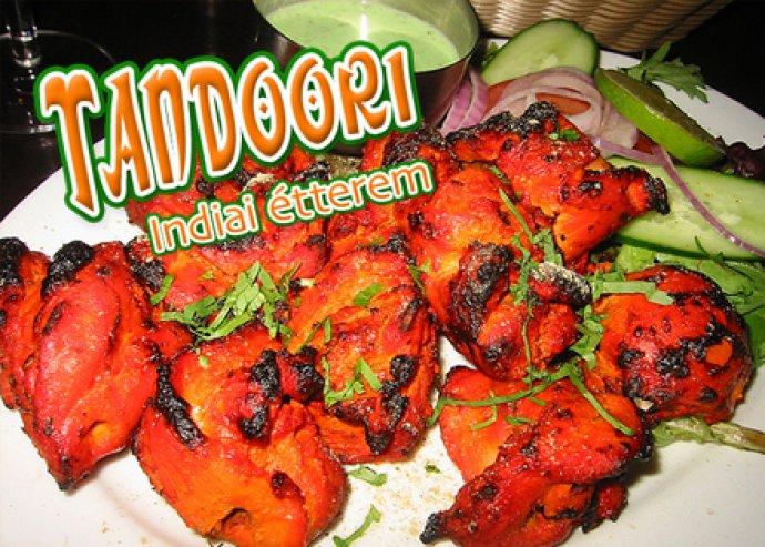 Vacsora / Ebéd  2 fő részére a Tandoori Indiai Étteremben