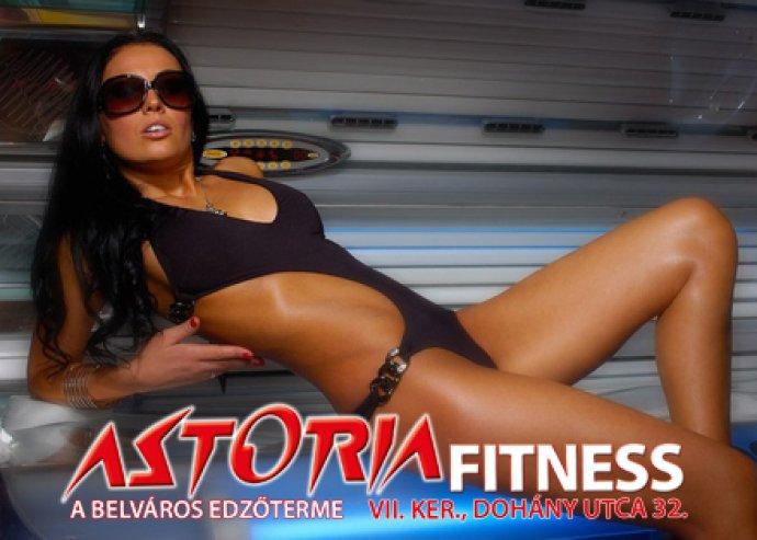 Szolárium vagy fitness bérlet az Astoria Fitness-ben