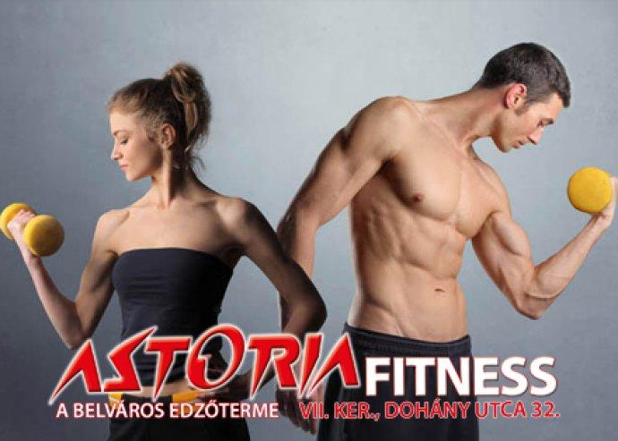Éves fitness bérlet az Astoria Fitness-ben
