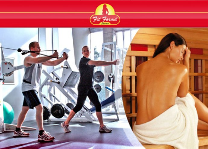 3 alkalmas konditermi edzés + infra szauna kezelés extrákkal