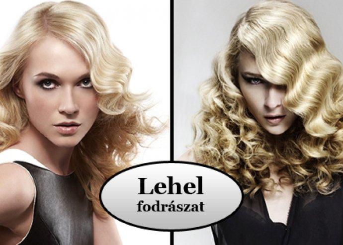 Női hajvágás, mosás, szárítás, pakolás és festés