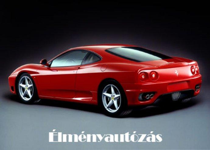 Ferrari 360 Replika élményvezetés 5 körön át a Kakucs Ringen