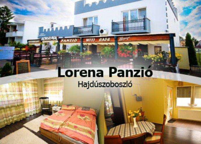 Pihenj 3 napot a Lorena Panzióban Hajdúszoboszlón