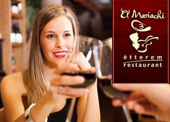 Nőnapi 2 személyes vegyestál a szentendrei El Mariachi Éttermeben