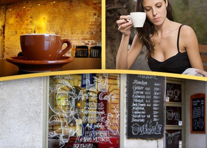Italfogyasztás a belvárosi Artz Caféban