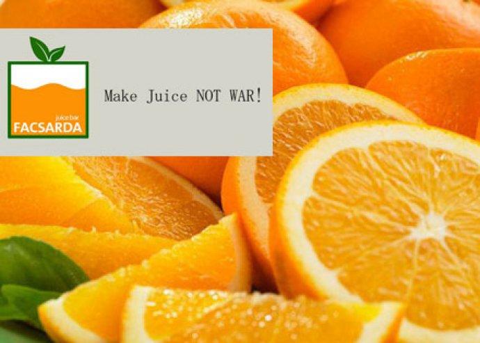 Frissen facsart, vitamindús gyümölcslevek a Belvárosban