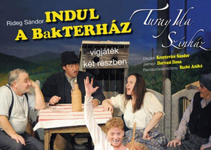Színházjegy az Indul a bakterház előadásra a Pólus Filmszínházba