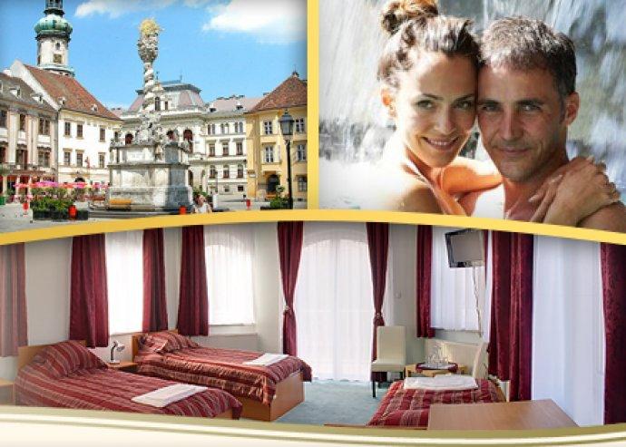 3 vagy 4 nap 2 fő részére reggelivel Sopronban