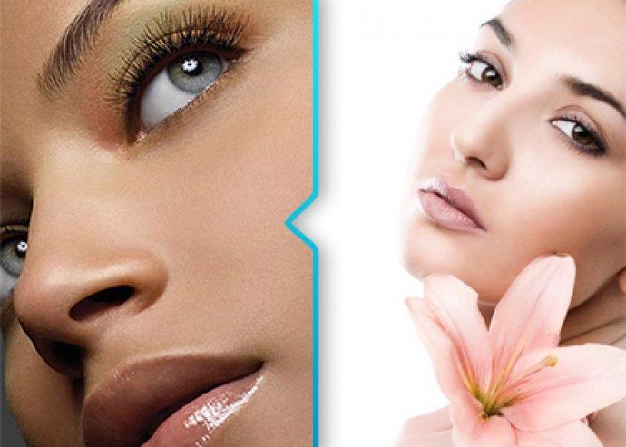 3 in 1 kozmetikai kezelés, mikrodermabrázió és arcmasszázs